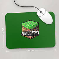 Коврик для мыши 290x210 Minecraft 3 (Игра)