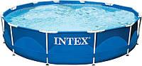 Каркасный бассейн Intex  366х76 см,высокое качество  6500 л