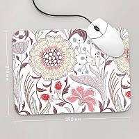 Коврик для мыши 290x210 Цветы №9 (растения, цветы, флора, узоры)