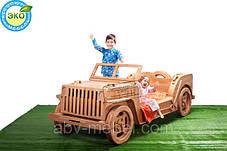 Кровать-Машина Джип Виллис, фото 2