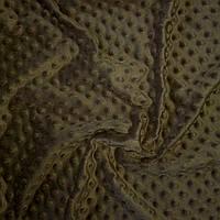 Плюш минки коричневый, ширина 84 см, плотность 350 г/м, фото 1