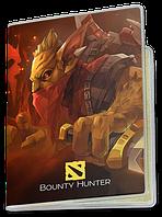 Обложка для паспорта  Bounty Hunter, Dota 2, #1 (хантер, Дота 2, два)