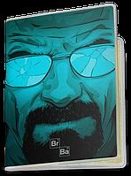 Обложка для паспорта  Breaking Bad, Во Все Тяжкие, №4