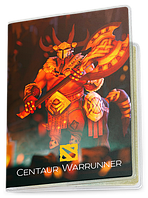 Обложка для паспорта  Centaur Warrunner, Dota 2, #1 (Дота 2, два)
