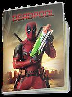 Обложка для паспорта  Deadpool, №9