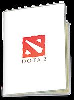 Обложка для паспорта  Dota 2, #1 (Дота 2, два)