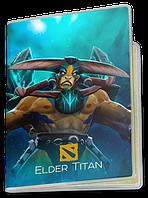 Обложка для паспорта  Elder Titan, Dota 2, #1 (элдер титан, Дота 2, два)