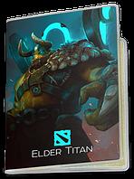 Обложка для паспорта  Elder Titan, Dota 2, #3 (элдер титан, Дота 2, два)