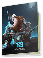Обложка для паспорта  Magnus, Dota 2, #1 (магнус, Дота 2, два)