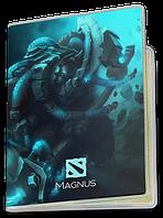 Обложка для паспорта  Magnus, Dota 2, #3 (магнус, Дота 2, два)