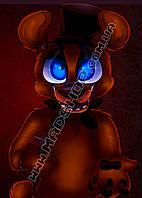 Картина 40х60 см Пять ночей с Фредди Мишутка
