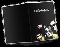 Обложка для паспорта  Nirvana, №1