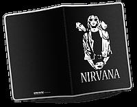 Обложка для паспорта  Nirvana, №2