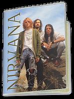 Обложка для паспорта  Nirvana, №3