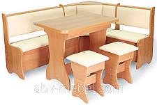 Кухонный уголок (стол+2 табурета), фото 2