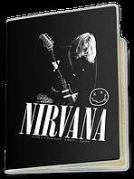 Обложка для паспорта  Nirvana, №6
