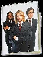 Обложка для паспорта  Nirvana, №7