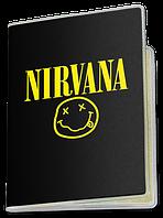 Обложка для паспорта  Nirvana, №8