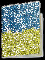 Обложка для паспорта  Peace (Чашка с украинской символикой,)