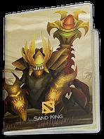 Обложка для паспорта  Sand King, Dota 2, #3 (санд кинг, Дота 2, два)