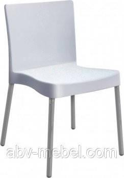 Стілець Корсика алюм пластик Білий (AMF-ТМ), фото 2