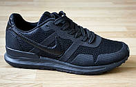 Кроссовки Nike найк мужские реплика черные удобные сетка Харьков