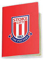 Обложка для паспорта  Stoke City, Premier League (Футбол)