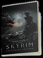 Обложка для паспорта  The Elder Scrolls 5 Skyrim, №4 (Игра)