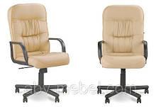 Кресло офисное Tantal plastik механизм Tilt крестовина PM64, экокожа Eсо-07 (Новый Стиль ТМ), фото 3