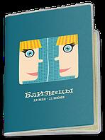Обложка для паспорта  Близнецы, №2