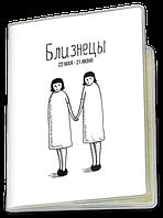 Обложка для паспорта  Близнецы, №3