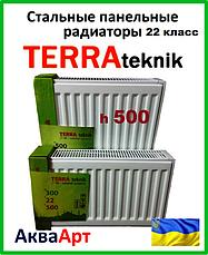Стальные радиаторы Terra teknik 22 класc h500 боковое подключение