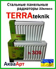 Стальные радиаторы Terra teknik 22 класс h300 боковое подключение