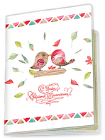Обложка для паспорта  День Святого Валентина, №4