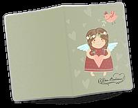 Обложка для паспорта  День Святого Валентина, №3