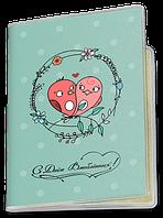Обложка для паспорта  День Святого Валентина, №5