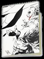 Обложка для паспорта  Джокер и Бэтмен