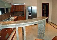 Барная стойка из натурального камня для кухни, бара (гранитная барная стойка)