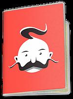 Обложка для паспорта  Козак (Чашка с украинской символикой,)