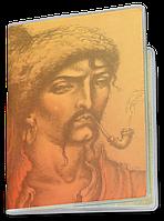 Обложка для паспорта  Козацькому Роду Нема Переводу (Чашка с украинской символикой,)