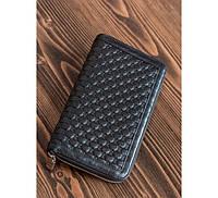 Кожаный кошелек GUCCI 10069 черный
