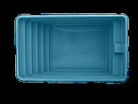 """Стекловолоконный (композитный) бассейн """"ЛЮКС-2"""" 5,50 х 3,25 х 1,50м"""