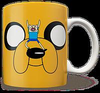 Чашка, Кружка  Adventure time, №1