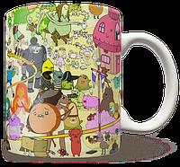 Чашка, Кружка  Adventure time, №2
