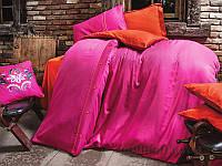 Постельное белье Issimo Home Dawson Fuchsia Двуспальный евро комплект