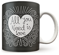 Чашка, Кружка All You Need is Love