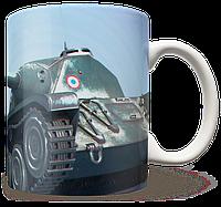 Чашка, Кружка AMX CDC, World Of Tanks, №2 (амх, Танки, танчики, WOT)