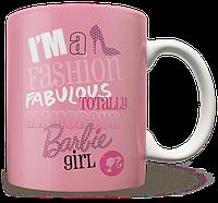 Чашка, Кружка Barbie, Барби, №1