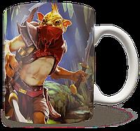 Чашка, Кружка Bounty Hunter, Dota 2, #2 (хантер, Дота 2, два)