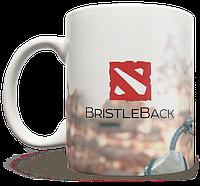 Чашка, Кружка BristleBack, Dota 2, #1 (Дота 2, два)